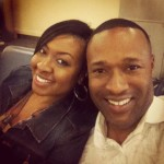 My husband Merlon and I In ATL airport
