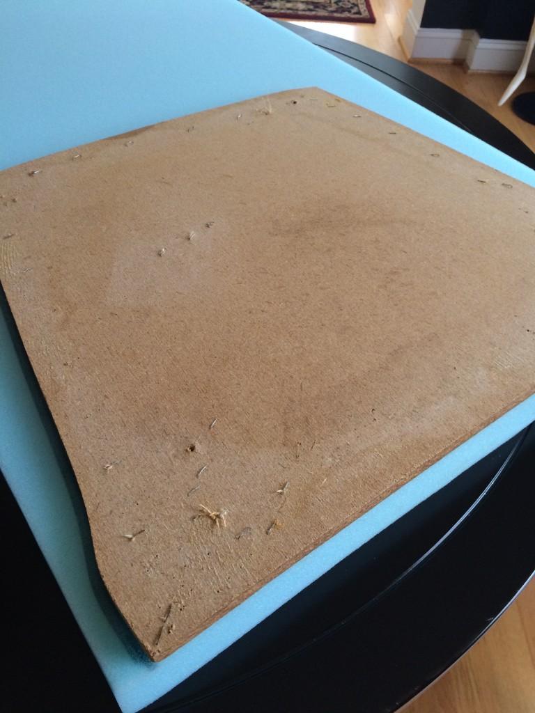 Outlining board on my foam