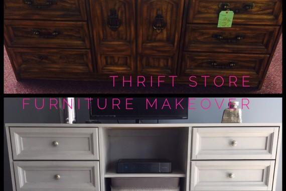 Thrift Store Furniture Transformation