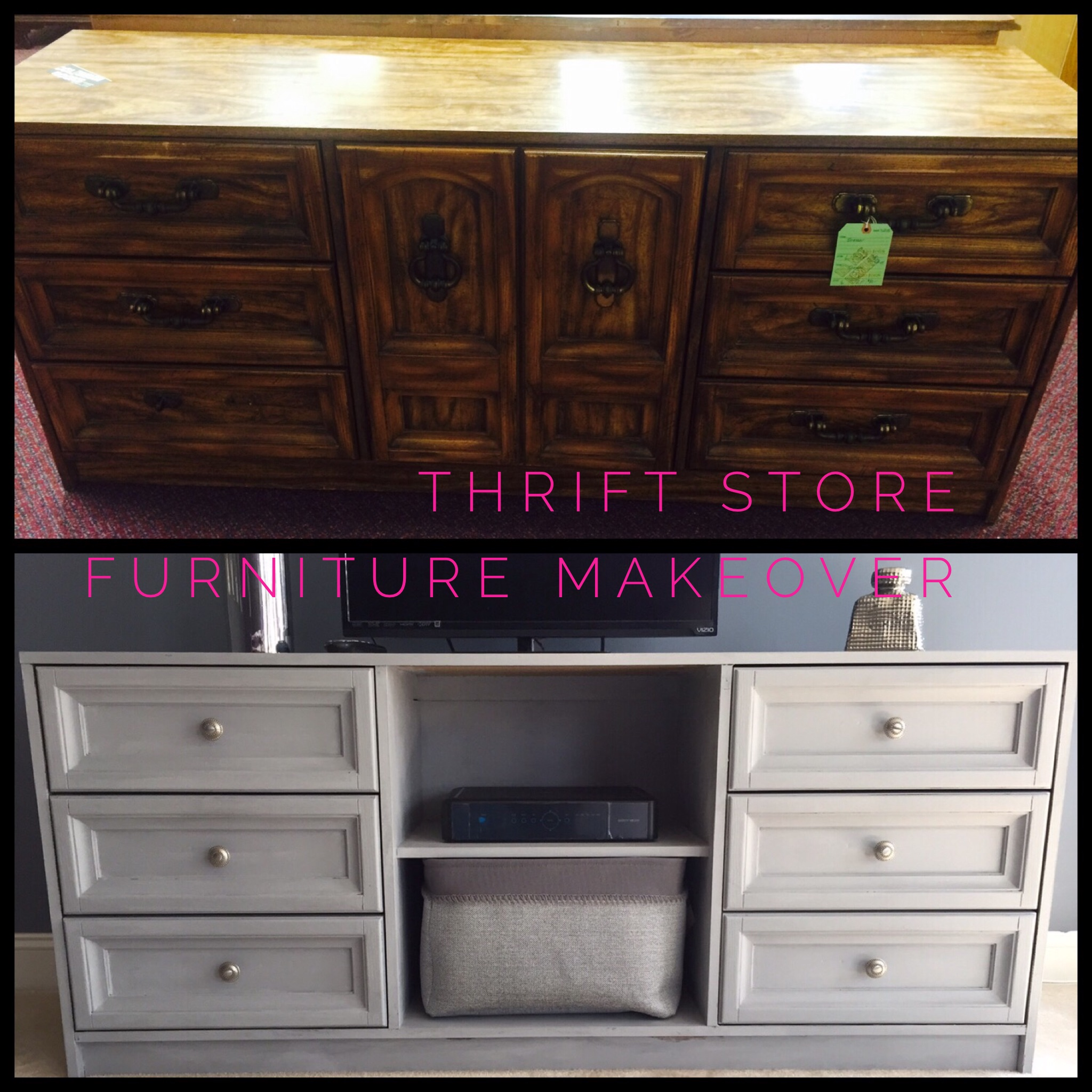 What Are Good Furniture Stores: Thrift Store Furniture Transformation